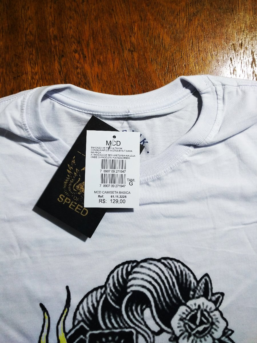 camiseta camisa masculina surf mcd heart skull. Carregando zoom. e394e9f664d
