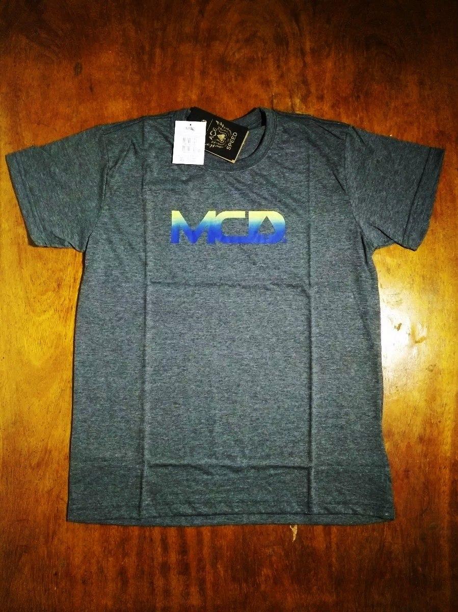 Camiseta Camisa Masculina Surf Mcd Logo Cinza .2 2f21b32a577