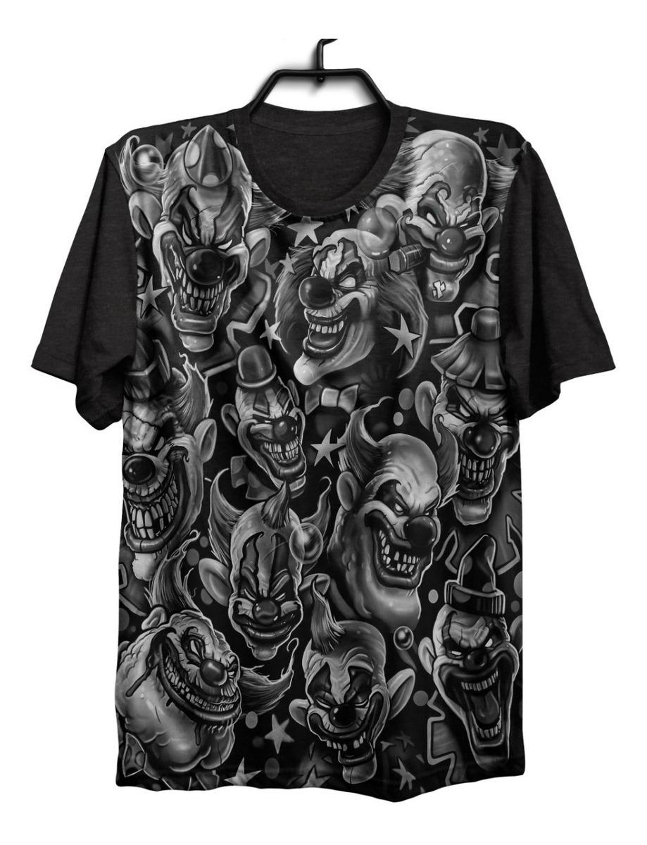 Camiseta Camisa Palhaco 157 Tattoo Tatuagem Psicodelico 1292 R