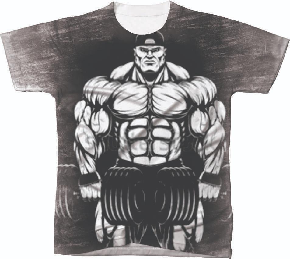 d67519a95d camiseta camisa personalizada academia no pain no gain ref 6. Carregando  zoom.