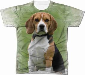 55756530c Camiseta Estampa Beagle no Mercado Livre Brasil