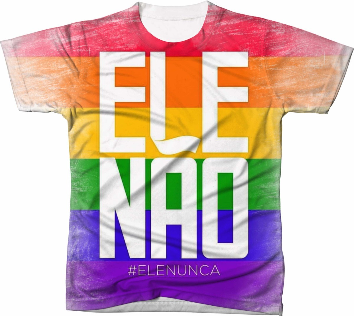 Camiseta Camisa Personalizada  elenão Lgbt 03 - R  49 0f2addcf48cde