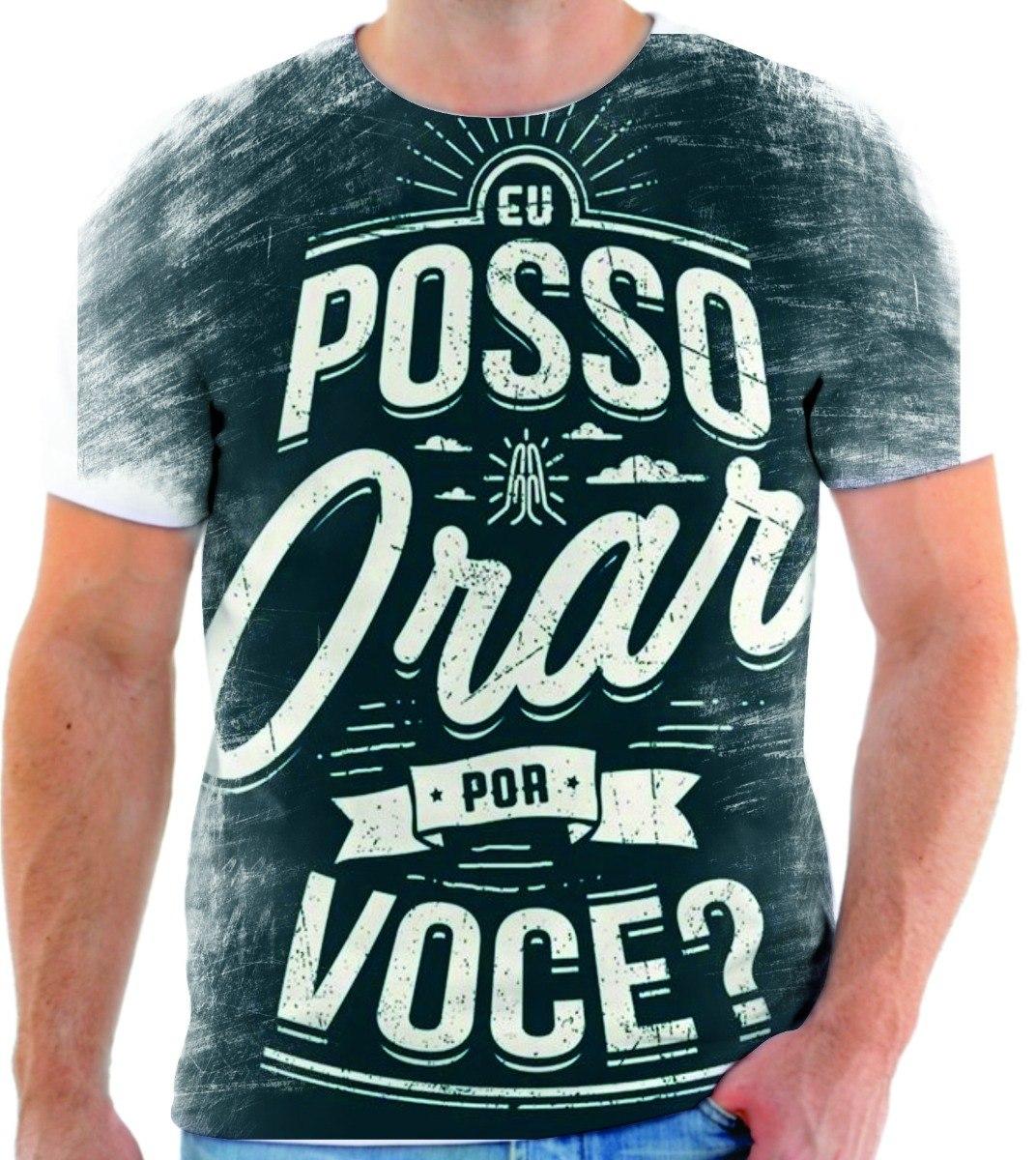 Camiseta Camisa Personalizada Estampa Gospel Ref. 422 - R  49 3c9b48a0e7448