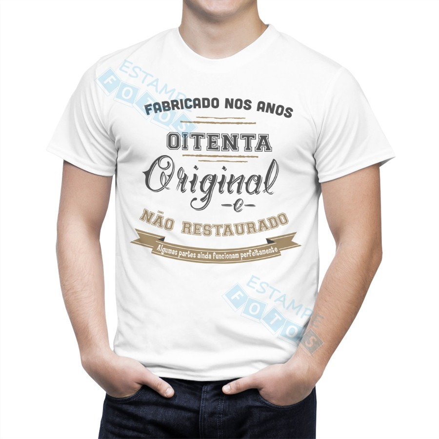 fa958ebeb camiseta camisa personalizada fabricado anos 80 - restaurado. Carregando  zoom.