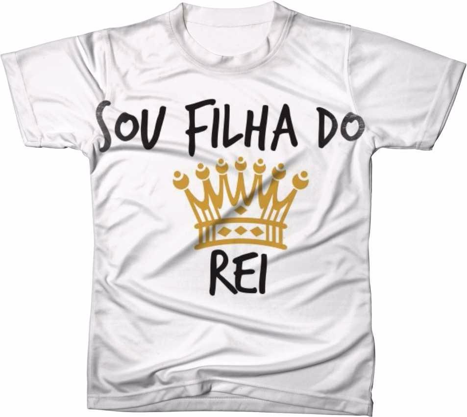 ac2253c77 camiseta camisa personalizada jesus cristo filha do rei. Carregando zoom.