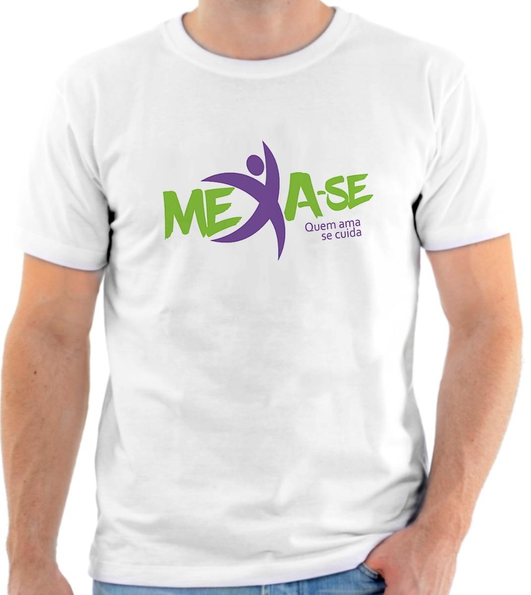 661b28b89 camiseta camisa personalizada mexa-se pela vida academia 2. Carregando zoom.