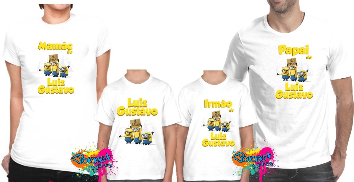 663632a4e80be camiseta - camisa personalizada qualquer tema 4 peças a4. Carregando zoom.