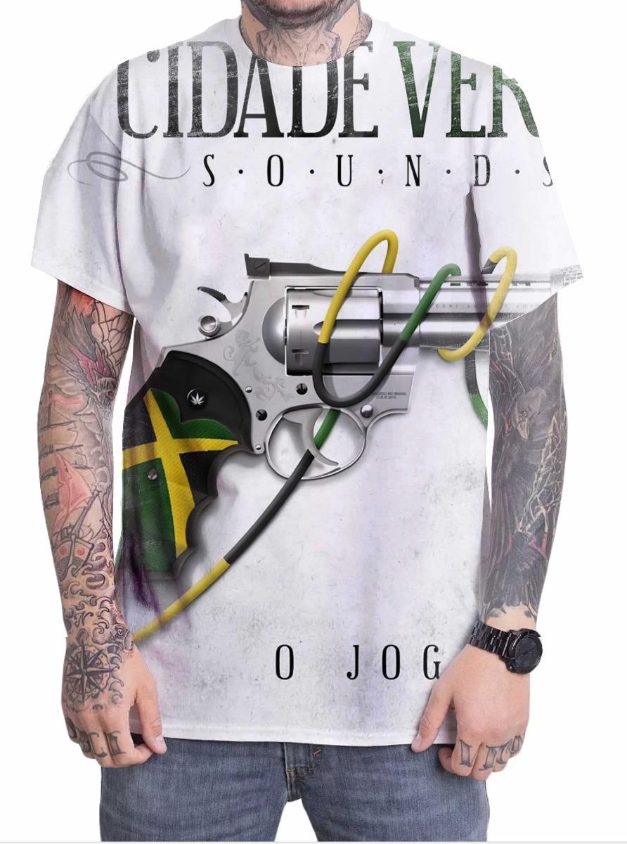 d824a53af12c9 camiseta camisa personalizada reggae cidade verde sounds. Carregando zoom.