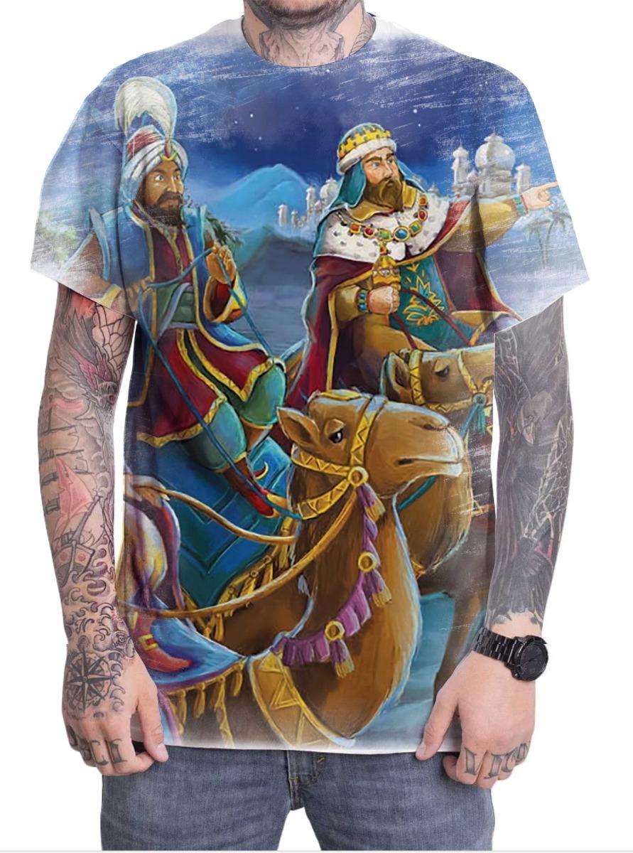 4ce90d612 camiseta camisa personalizada três reis magos cristã 02. Carregando zoom.