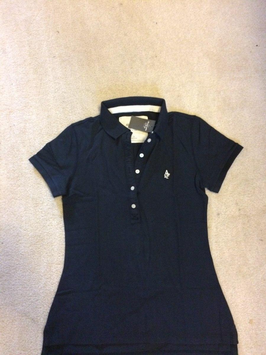 26ca79c4c4 camiseta camisa polo feminina abercrombie tamanho p ou g. Carregando zoom.