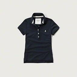 51afa82684 Camiseta Camisa Polo Feminina Abercrombie Tamanho P Ou G - R  120