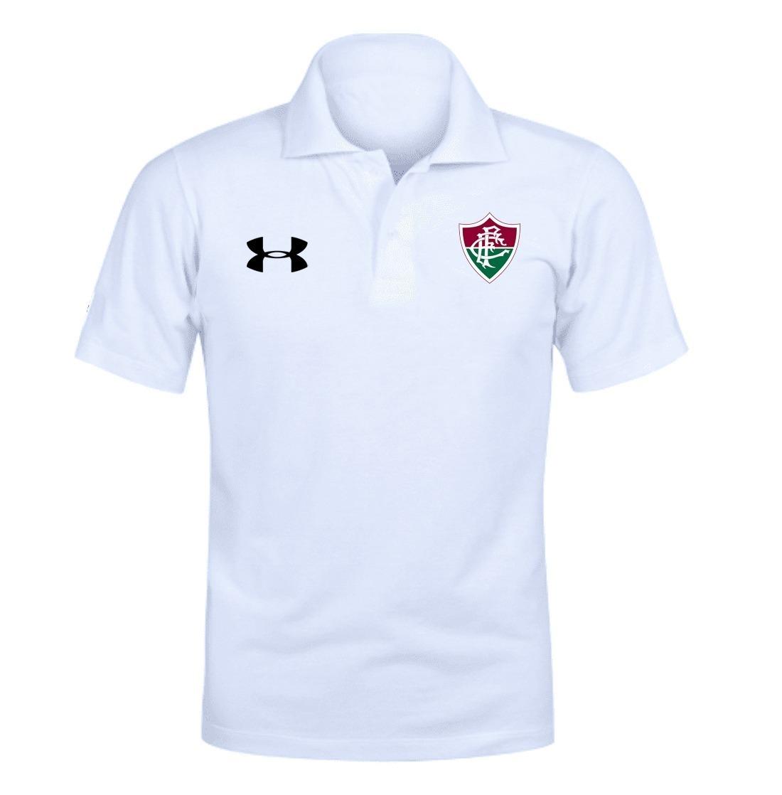 f49a550809718 camiseta camisa polo fluminense futebol time tricolor. Carregando zoom.