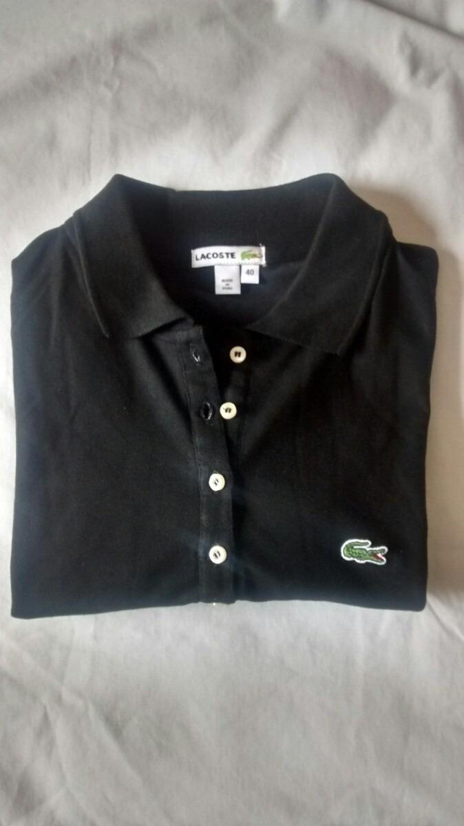 Camiseta Camisa Polo Lacoste Feminina Original. - R  149,90 em ... efad09531f