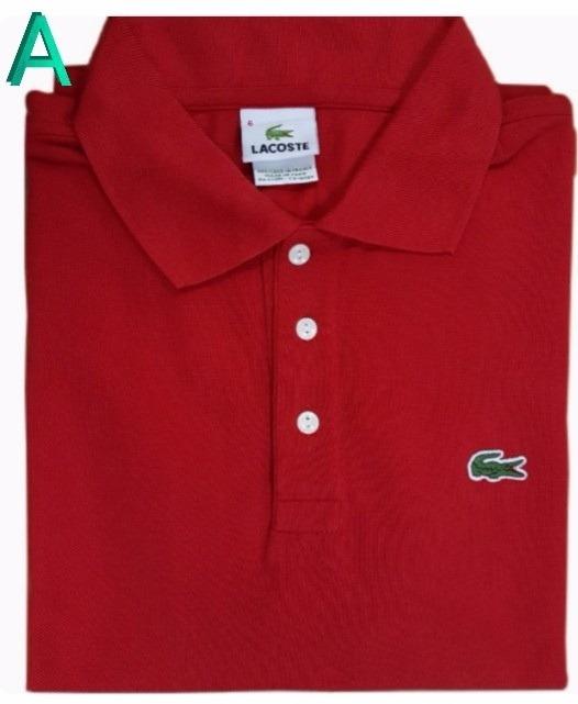Camiseta Camisa Polo Lacoste Original Social Peru Atacado - R  120 ... bceaf00ad0