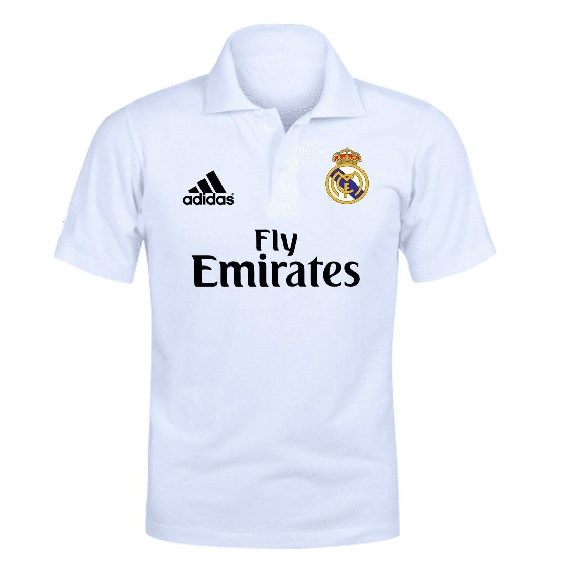 0a8586ea11a65 camiseta camisa polo real madrid time futebol. Carregando zoom.