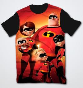 8ab045e8f7 Camiseta Camisa Promoção Os Incriveis Adulto E Infantil