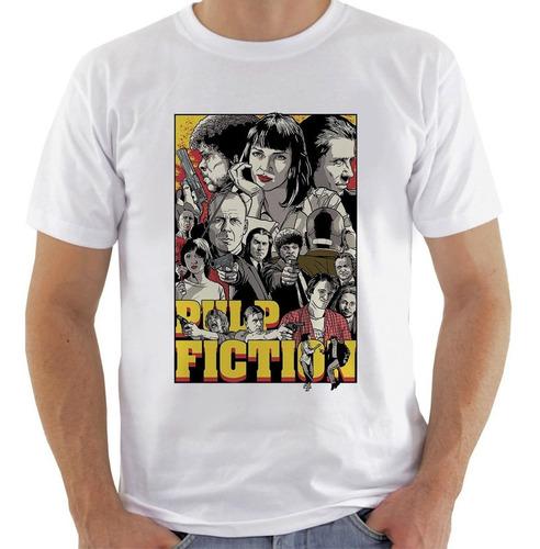 camiseta camisa pulp fiction quentin tarantino