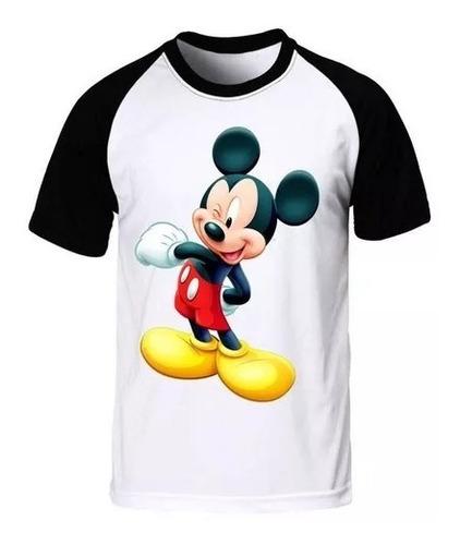 camiseta camisa raglan mickey revista seriado best swag 4