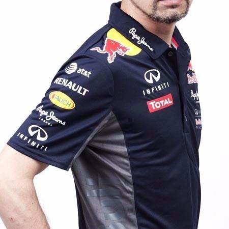 Camiseta Camisa Red Bull Polo Formula 1 Oficial 100% Algodão - R ... 61115b211cbd3