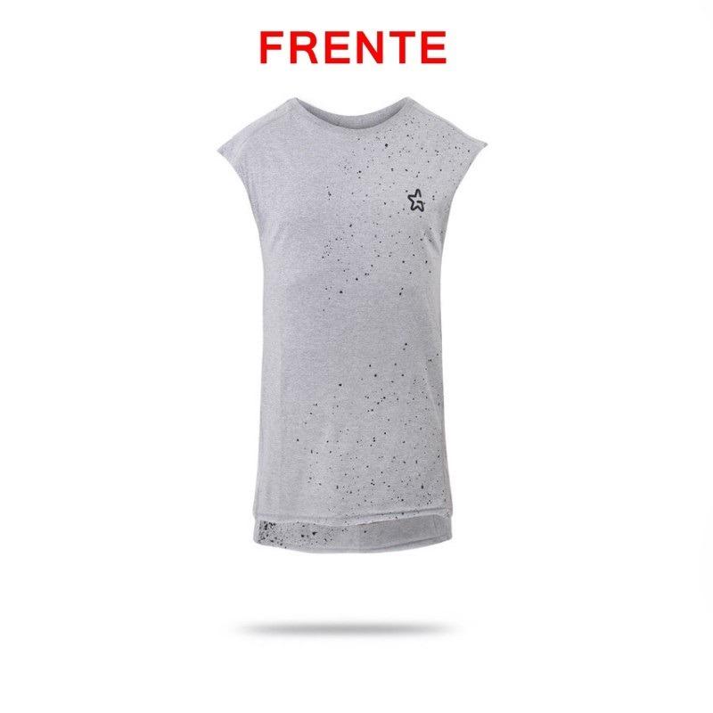 04ed777df99a4 camiseta camisa regata oversized longline masculina gstyle. Carregando zoom.