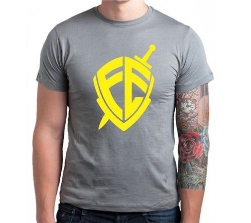 camiseta, camisa religiosa escudo da fé - promoção góspel