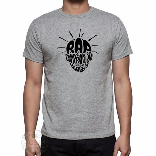 camiseta camisa sabotage rap é compromisso a melhor do ml !
