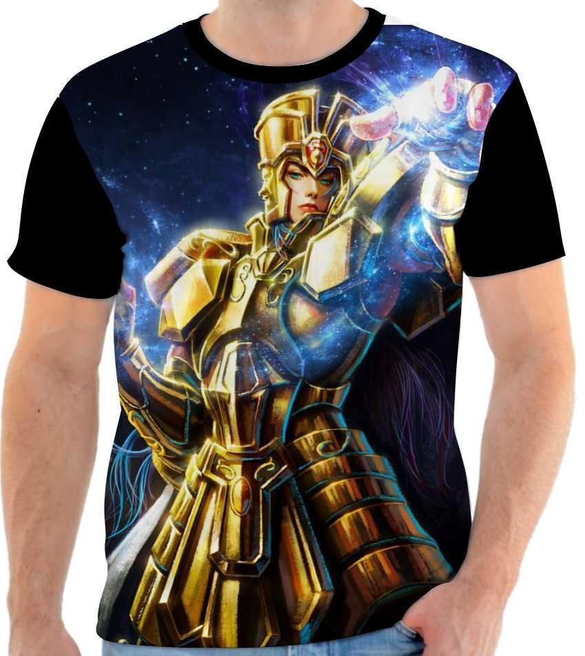 79ce78af8 camiseta - camisa saga de gêmeos ouro cavaleiros do zodíaco. Carregando zoom .
