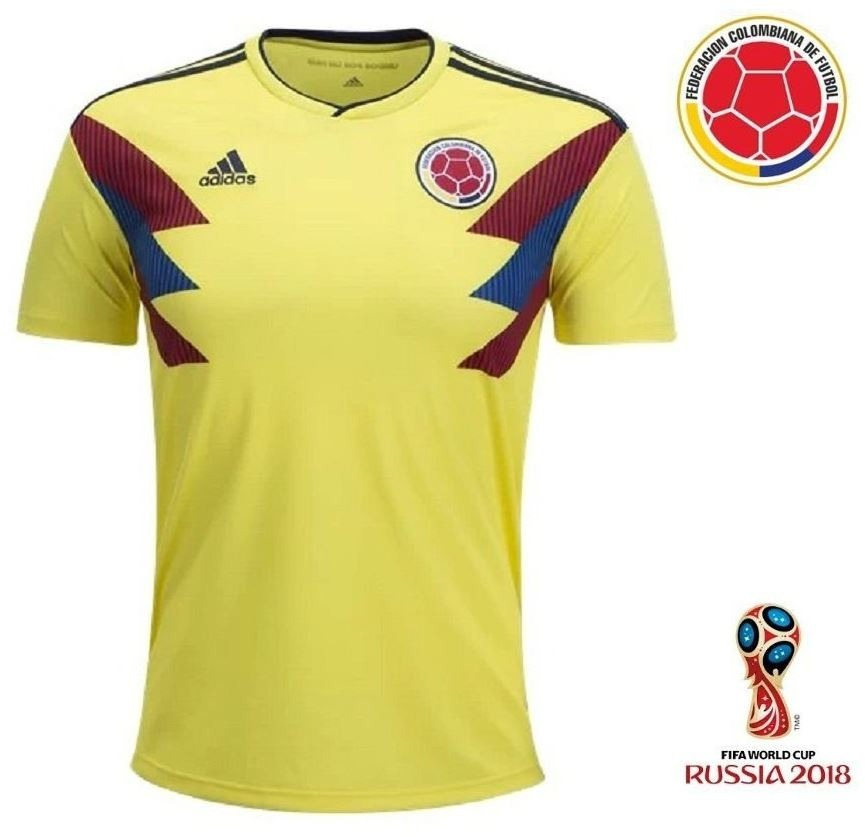 fec99739f camiseta camisa selecao colombiana colombia copa 2018 lisa. Carregando zoom.