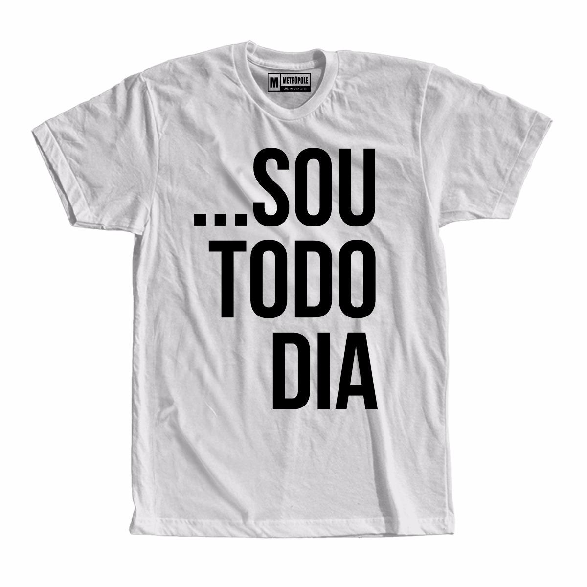 Camiseta Camisa Sou Todo Dia Pablo Vittar Roupas Femininas - R  37 ... 8572b0f4635aa