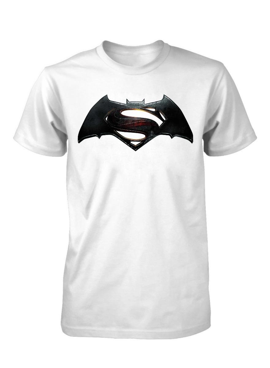 Camiseta Camisa Superman Vs Batman Basica Desenho Simbolo R 19