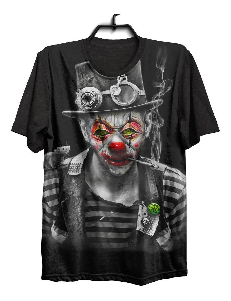 Desenho Palhaço Tatuagem camiseta camisa tattoo tatuagem psicodelico palhaço .