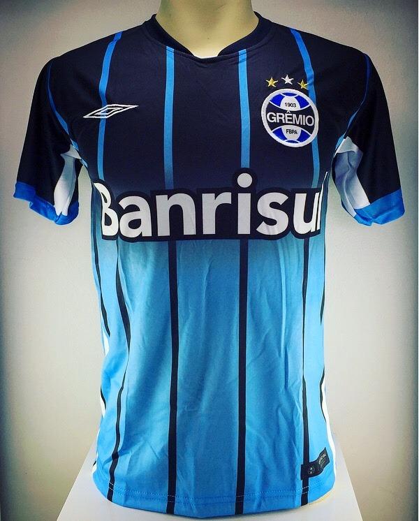 82010238e9187 Camiseta Camisa Time Grêmio Nova 2017 - R  35