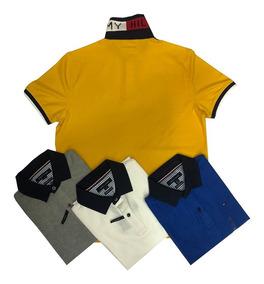 0f40d5f32da7 Camiseta Camisa Tipo Polo Tommy Hilfiger Original Hombre