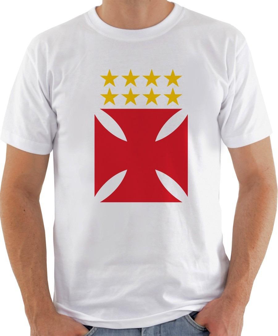 41a4cfb3f5 camiseta camisa vasco da gama brasão cruz 2018. Carregando zoom.