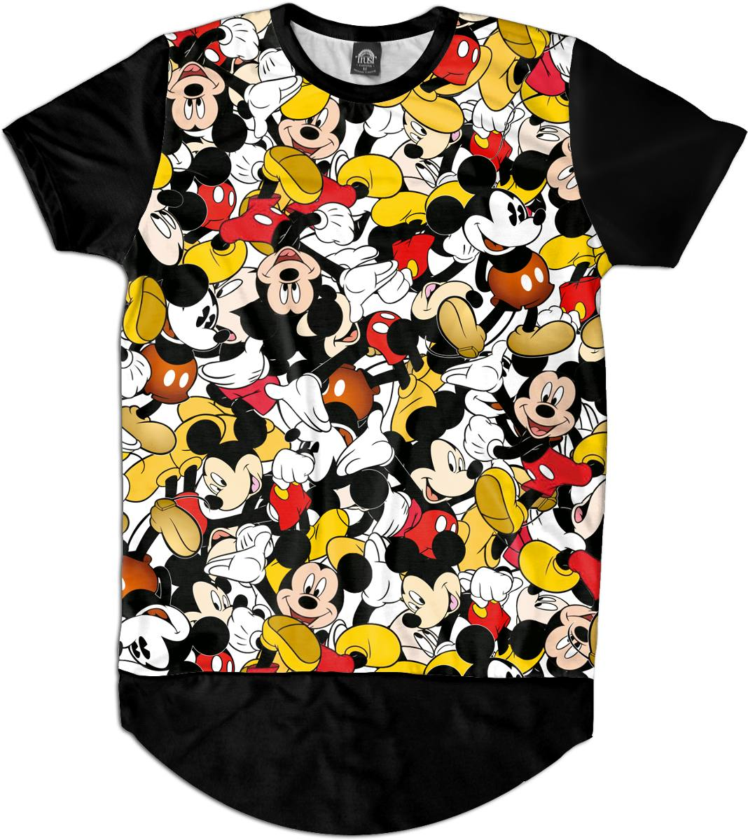 Camiseta camisetao masculino oversized mickey disney for Oversized disney t shirts