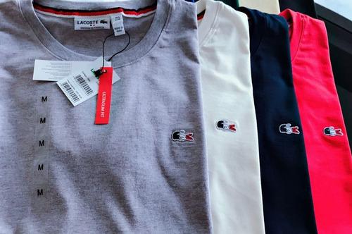 camiseta camissa masculina france importada peruana 3 pçs
