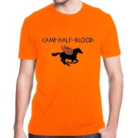 Camiseta Camp Half Blood Meio Sangue Percy Jackson