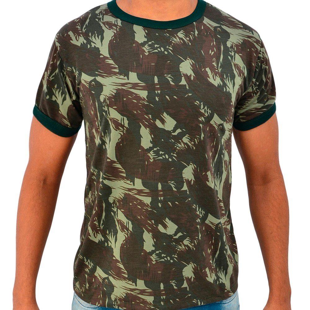 camiseta camuflada camisa masculina exército mercado livre. Carregando zoom. 5ff380e8a93fe