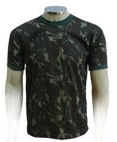 Camiseta Camuflada Dry Fit Do Exercito Brasileiro - R  44 b49d0a7cec9