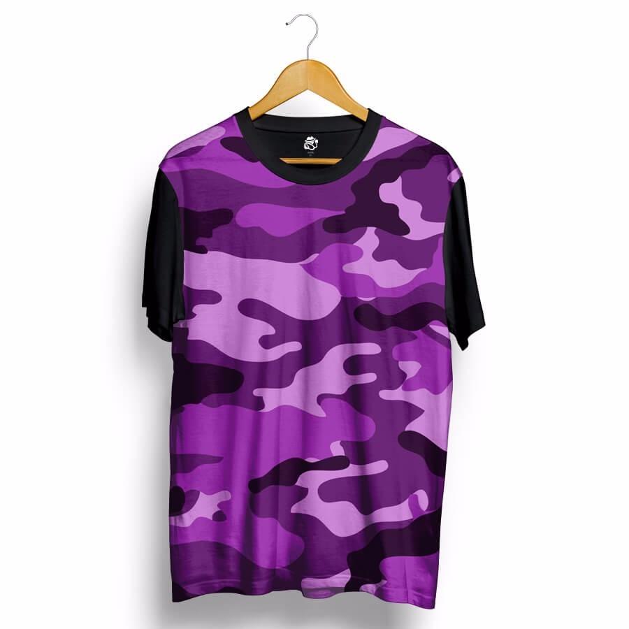 camiseta camuflada estampada swag estilo dope top kings roxa. Carregando  zoom. ff88506d2cb