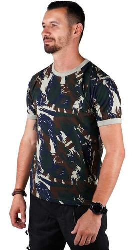 camiseta camuflada força aérea brasileira