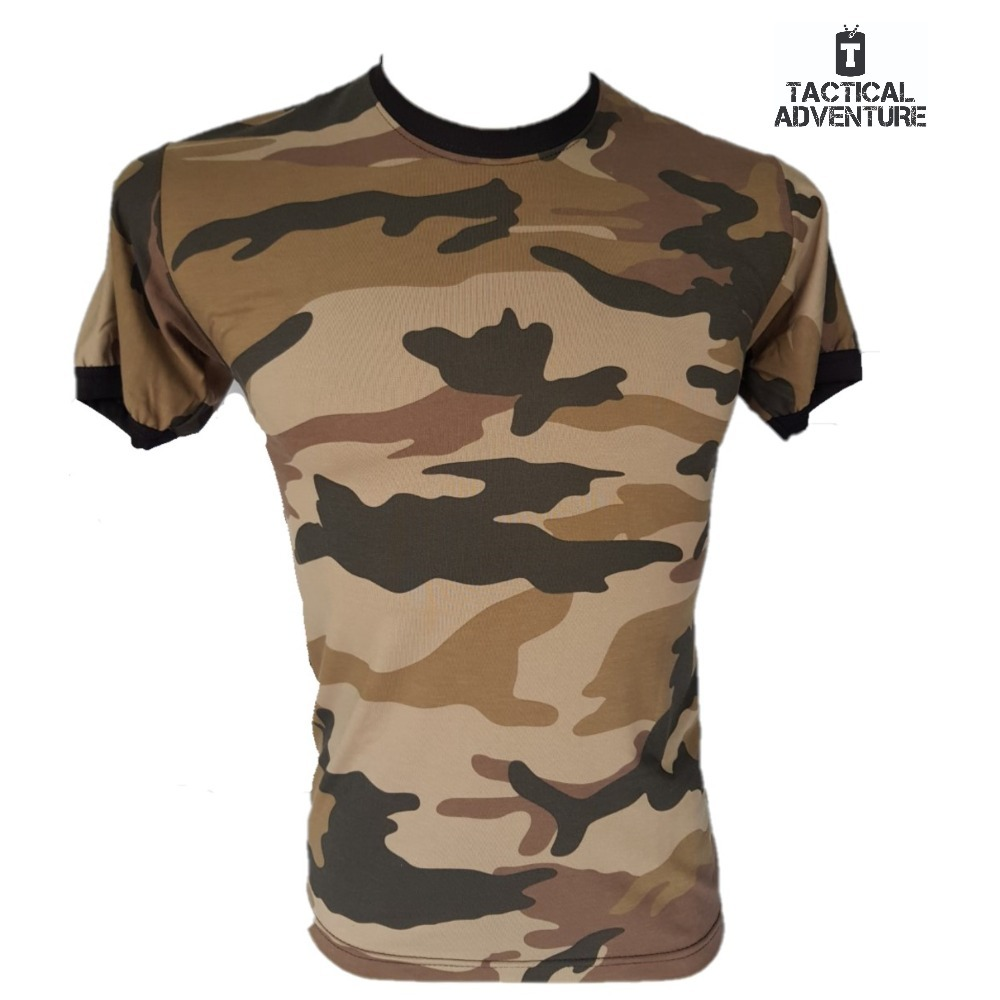 1a0b01d6606b2 Camiseta Camuflado Frances T-shirt Tactical Adventure