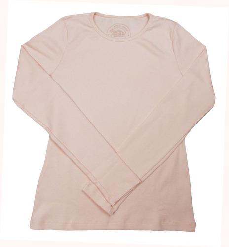 camiseta canelada inverno