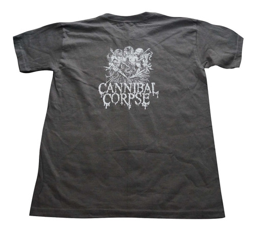 camiseta cannibal corpse rock activity talla m