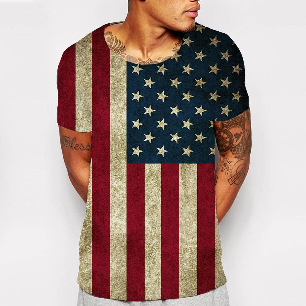 f463ea7604971 Camiseta Canoa Bandeira Estados Unidos Usa Flag Eua América - R  89 ...