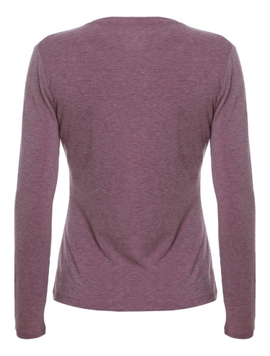 camiseta capa base thermoactive morado doite