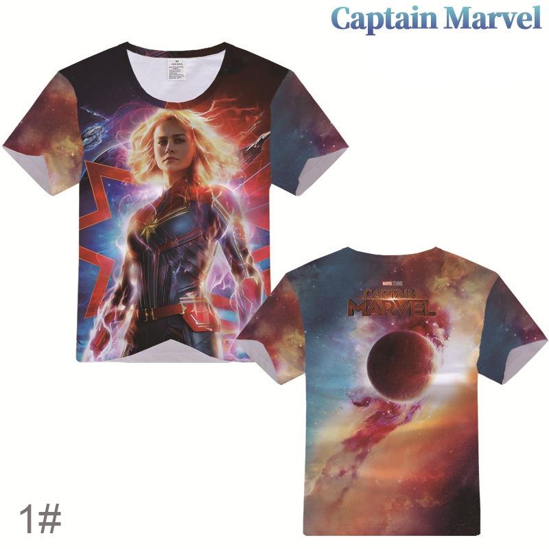 Camiseta Captain Marvel. Para Hombres Y Mujeres