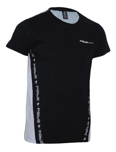 camiseta careca com fita em tape