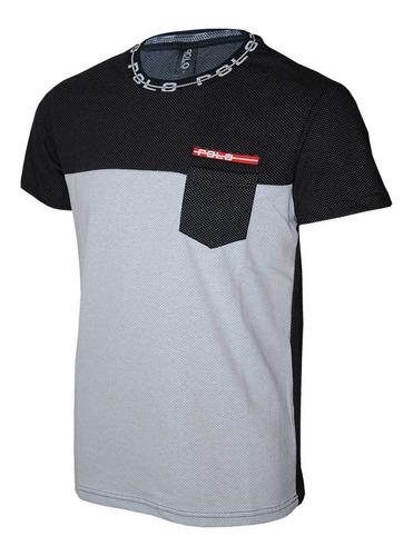 camiseta careca em malha micro furos