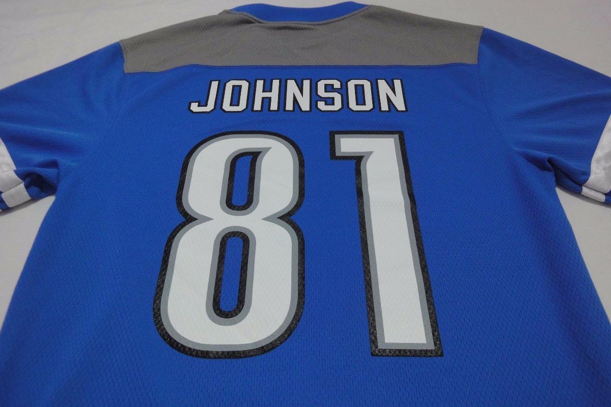camiseta casaca futbol americano detroit lions nfl talle l. Cargando zoom. 96accac4326